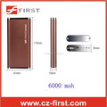 colorful 6000 mah 7mm ultra-slim body power bank factory