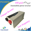 DC/AC inverters type 2000w automobile power inverter low frequency inverter charger pure sine wave