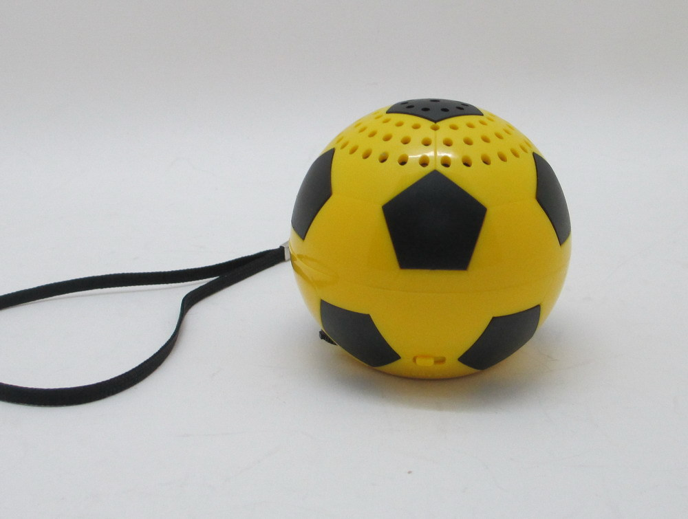 Sport football shape speaker for Brazil Olympics mini portable rechargeable bluetooth 3.0 with TF card for smart phones