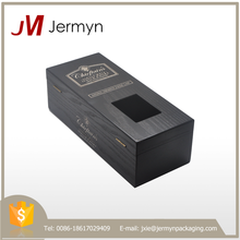 Customized best quality wooden wine packaging box with competitive price
