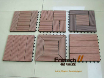 eco friendly diy deck. 300x300mm WPC DIY Tile,interlocking Composite Deck Tiles,floor Tile,eco- Friendly Eco Diy