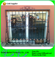 Cheap Hot Selling Wrought Iron Sliding Window Guard Grills