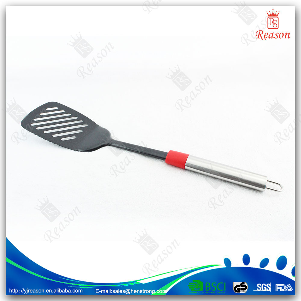 Stainless steel utensils and function slotted turner