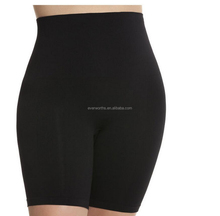 Instantly slimmer plus size seamless shapewear shorts for women