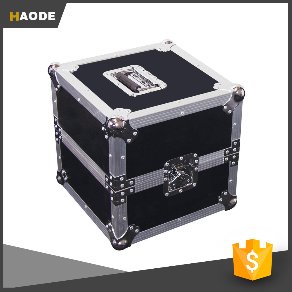 "15"" 80 Capacity Deluxe LP Record Flight Road Case Hardware"