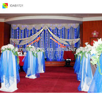 IDA new hot selling wedding stage build water curtain wholesale for international trade show