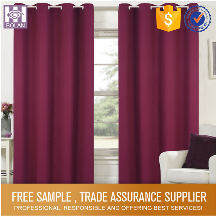 Various Styles Beautiful Printed Custom curtain designs curtains india