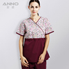 Printed nurses uniform design pictures, doctors uniforms china, scrubs uniforms