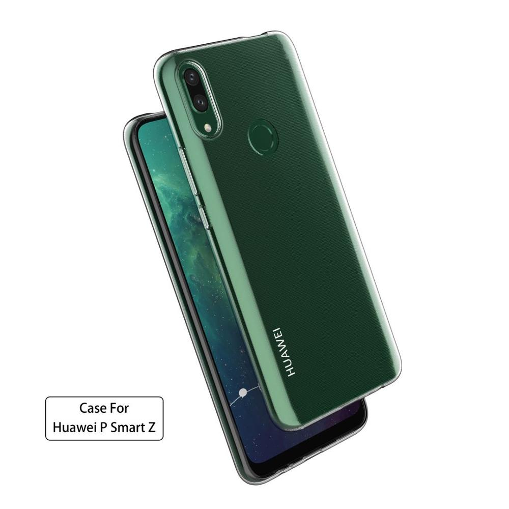 Crystal Clear,Ultra-thin Soft TPU Cover Anti Slip with Scratch Resistant For Huawei P smart <strong>Z</strong> Smartphone