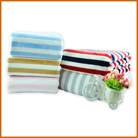 Super Soft Polyester Fleece Signature Blanket Throw