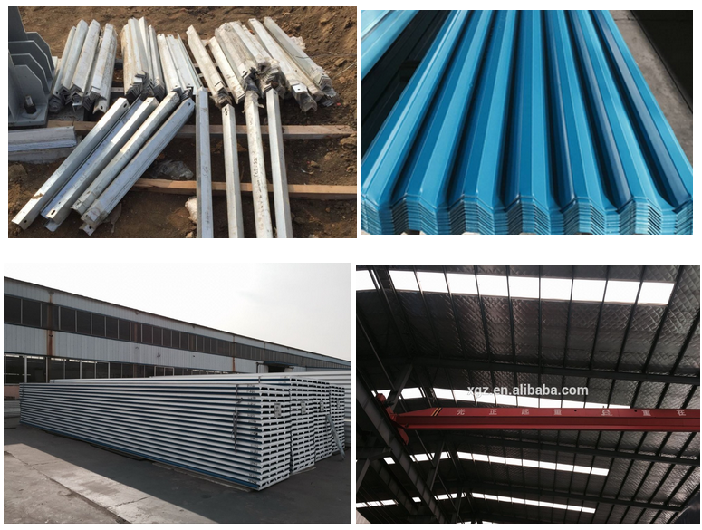 Good appearance steel structure warehouse /prefab house