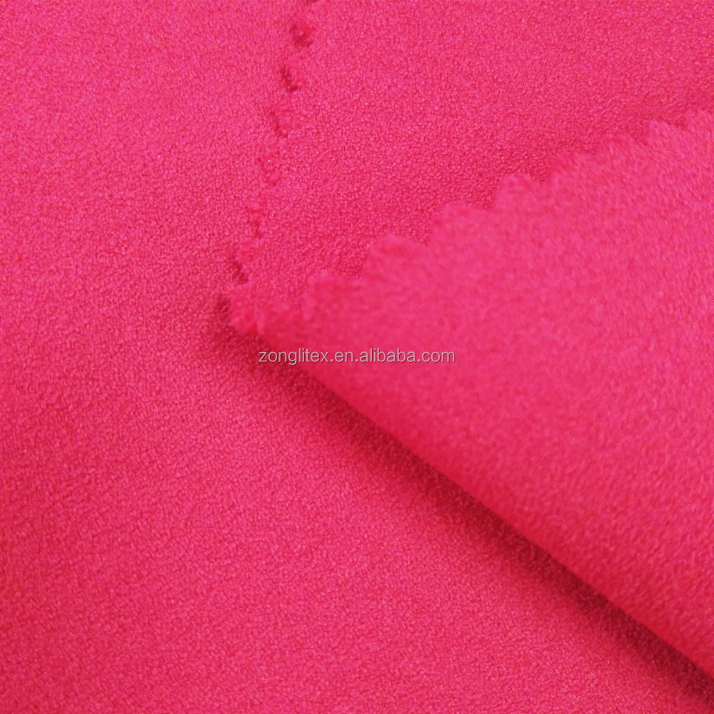 Woven make to order heavy moss crepe fabric for blouse