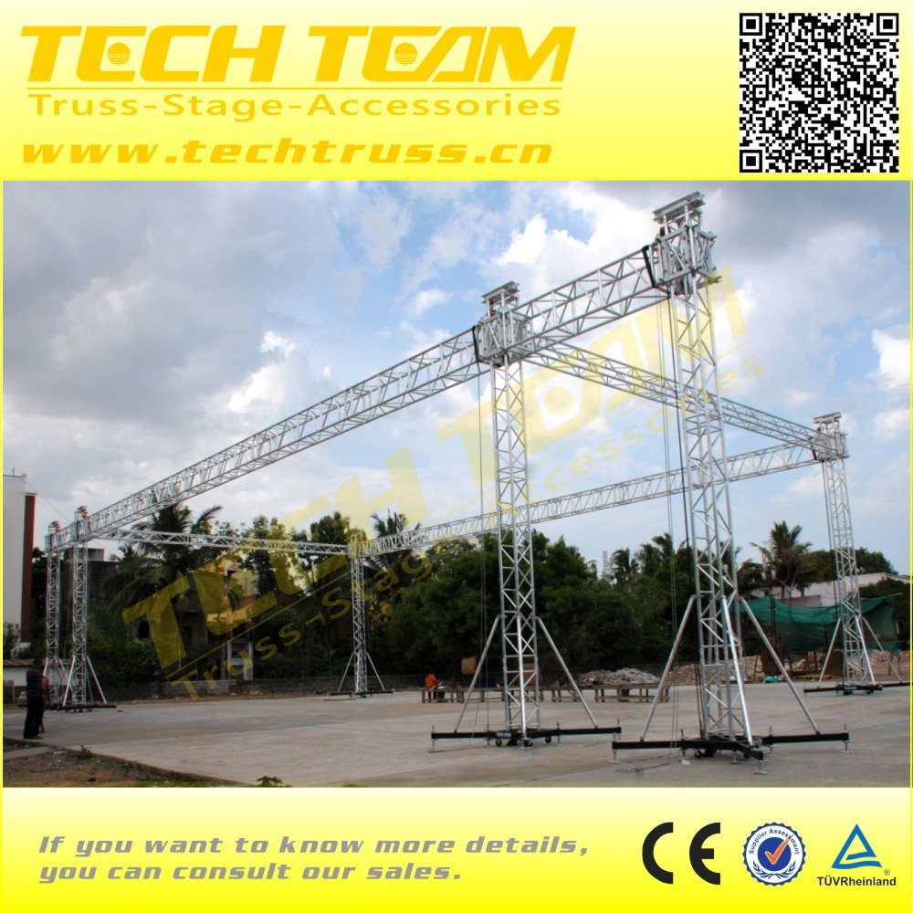 Circle aluminum truss mini lighting truss stand