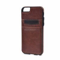New and single design leather cell phone case for iPhone 6/6s