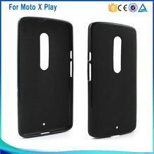 Factory wholesale soft pudding tpu cover case for moto x play