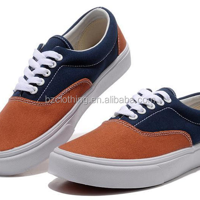 2015 Top fashion men cheap injection canvas shoes