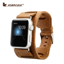 For Apple Watch Genuine Leather Watch Band For Apple Watch Strap With Clasp Buckle 38mm