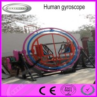 manufacturer amusement ride human gyroscope hot sale