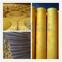 Fiber Glass Aluminu Cladding thermal insulation Pipe Cover