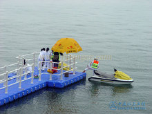 Marine supplies modular floating pontoon dock
