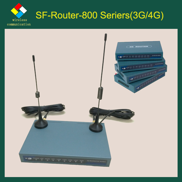 R8008 Industrial lte wifi router 4g for remote POS (point of sale) terminals ATM application