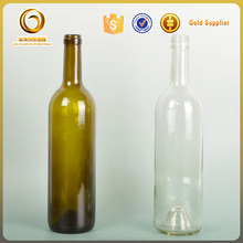 Hot sale high quality 750ml bordeaux wine bottles