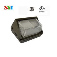 UL(E476590) approved LED wall pack light of high quality for 5 years warranty DLC UL CUL FCC SAA