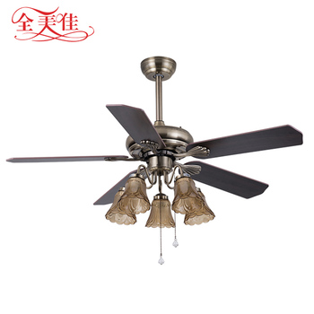 Zhongshan Best Brand Modern Fancy Light Weight remote control 220V Ceiling Fan For Malaysia
