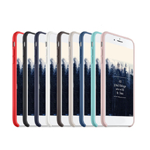 Wholesale waterproof silicon soft Phone Case For apple iPhone 7 silicone case
