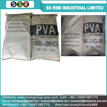 Hot sales 1788 polyvinyl alcohol pva granules low price