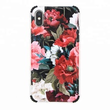 new product custom soft full printing IMD phone cover for iphoneX with Anti-Fall Airbag