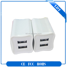 2 port usb quick charge 2A universal travel charger