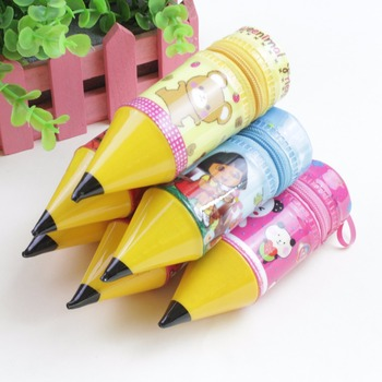 PENCIL SHAPE PENCIL CASE