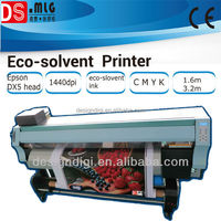 high performance !1.8m or 3.2m eco solvent plotter,DX5 head printing machine for indoor ,outdoor printing