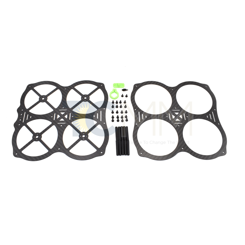2017 New Wholesale Carbon Fiber 3K Mini Quadcopter FPV RC Drone UFO MM130-O Frame Kit