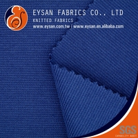 EYSAN Thick Interlock Polyester Cotton Punto Roma Knitting Fabric