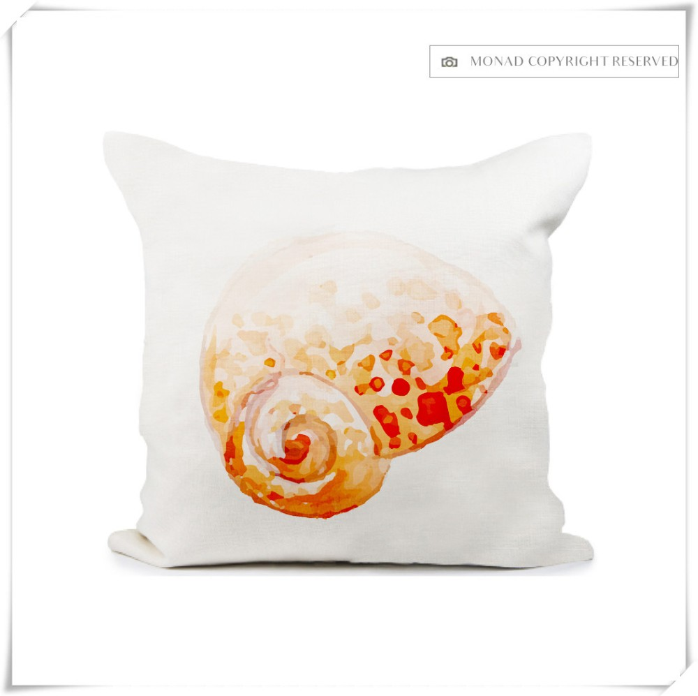 Wholesale Marine Style Custom Digital Printing Sofa Cushion Cover