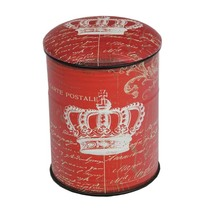 Custom space saving furniture tin vintage metal stool
