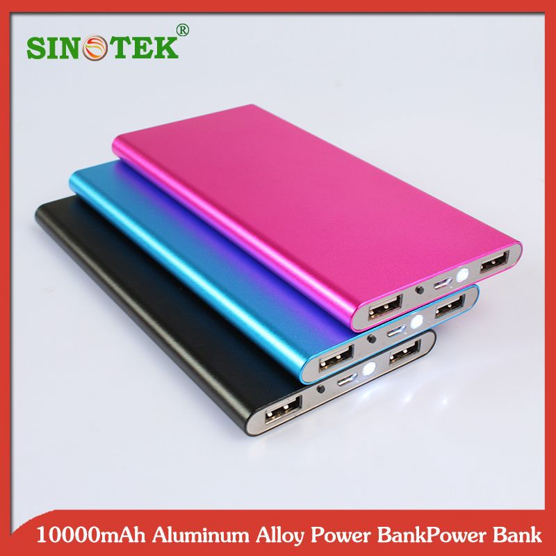 SINOTEK rechargeable battery power station xiaomi power bank 10400mAh