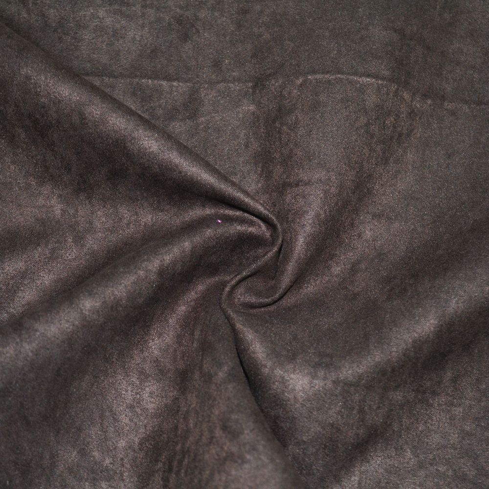 patterned microfiber polyester spandex brushed double side washable suede fabric for Sofa/Curtain/Upholstery Use