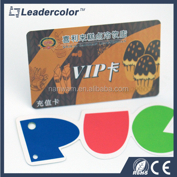 Person customized metal VIP card for promotion from Card Factory