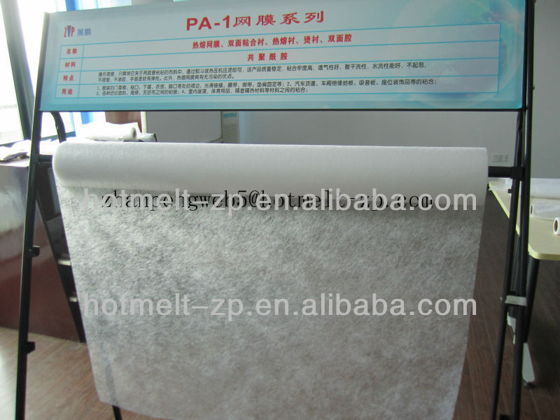 TPU double-sided hot-melt glue for outdoor clothing seamless pockets