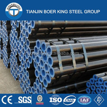 ASTM A 106/ A53 GR B seamless steel pipe in Tianjin made in China