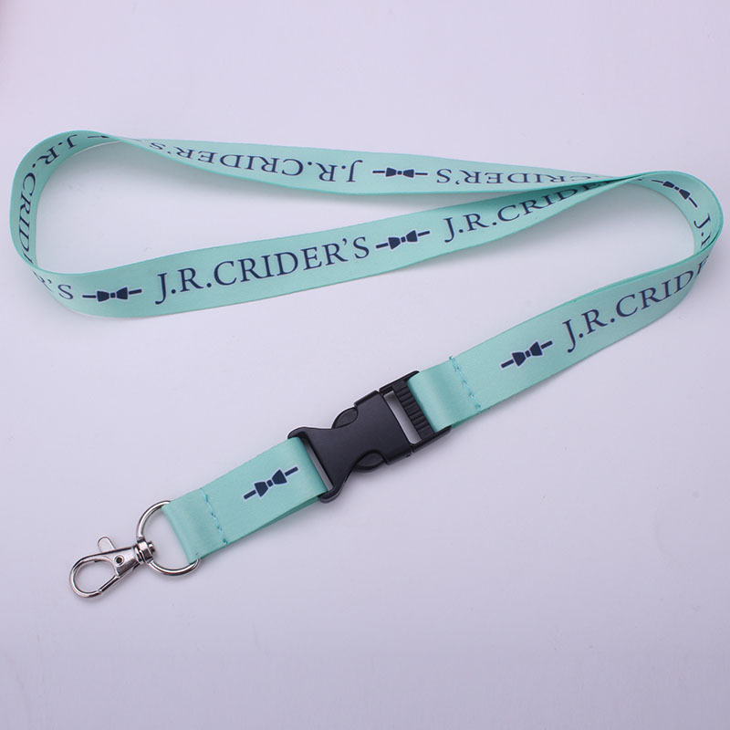 Sublimation neck products factory quality printed company lanyards with logo
