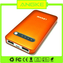 5000 mAh Rechargeable Portable Power bank For Iphone,ipad,ipod