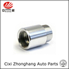 CNC machining Hardened thread bushing with white zinc plating for Automobile
