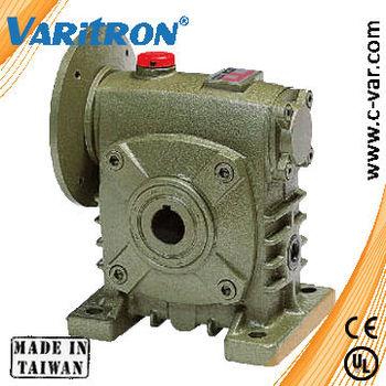 Varitron worm gear speed reducer hollow shaft gearbox for Hollow shaft worm gear motor