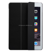 Freestanding ultra slim pure color pu leather case for ipad pro 12.9 case for ipad pro12.9