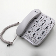 Big button Phone with volume control and LED ringer indicator for aged people