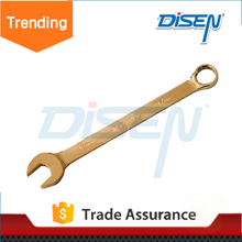 Save 2% carbon steel high quality Fully Polished Metric Combination / Ring Open End Ratchet Wrench / Spanner